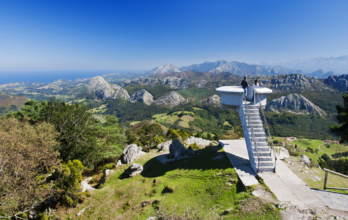 Mirador del Fitu (Donde se junta el mar y la montaña).